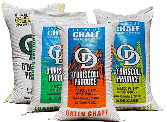 O'Driscoll Produce farmcut chaff products are all steam cut and dust reduced.